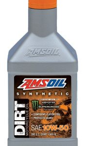 Amsoil 10W-50 Synthetic Dirt Bike Oil