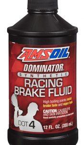 Amsoil DOMINATOR DOT 4 Synthetic Racing Brake Fluid