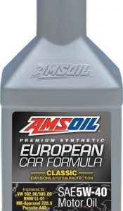 European Car Formula 5W-40 Classic ESP Synthetic Motor Oil