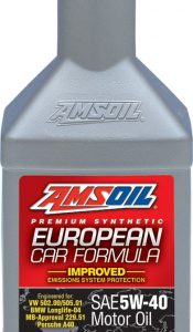 5W40 Amsoil European Car Formula Synthetic Motor Oil