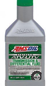 Amsoil Synthetic ATV/UTV Transmission & Differential Fluid