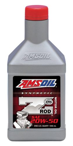 Z-ROD® 20W-50 Synthetic Motor Oil