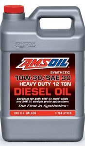 Amsoil 10W-30/SAE 30 Synthetic Heavy-Duty Diesel Oil