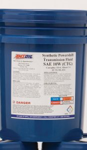 Amsoil Synthetic Powershift Transmission Fluid SAE 10W