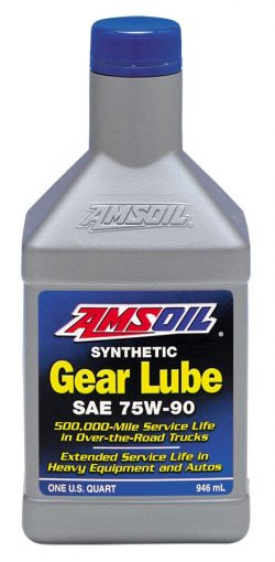 amsoil 75W-90 Long Life Synthetic Gear Lube