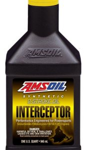 Amsoil INTERCEPTOR Synthetique 2-Stroke huile