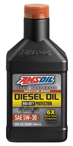 Amsoil Signature Series Max-Duty Synthetic Diesel Oil 5W-30