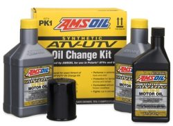 AMSOIL ATV/UTV oil and filter Kits (PK1, PK2, PK3)