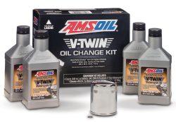 amsoil ensemble de filtre et huile pour moto harley-davidson