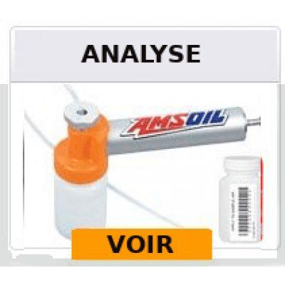 Service d'analyse d'huile et fluide