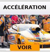 Course d'accélération