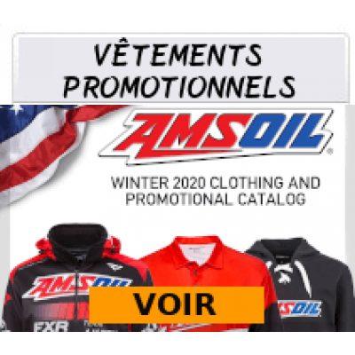 Vêtements promotionnels